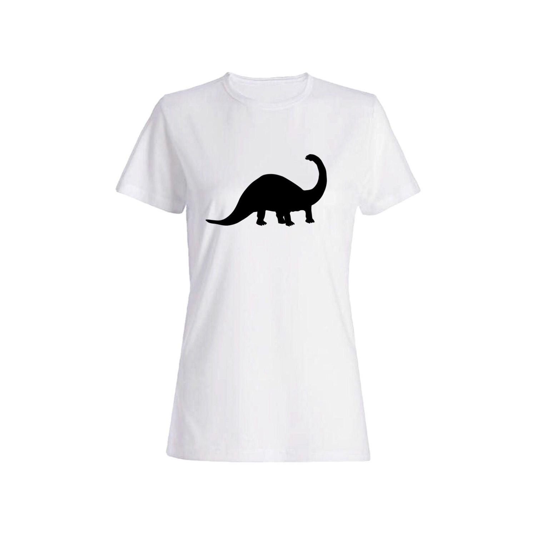 تی شرت نخی زنانه طرح دایناسور کد 4464
