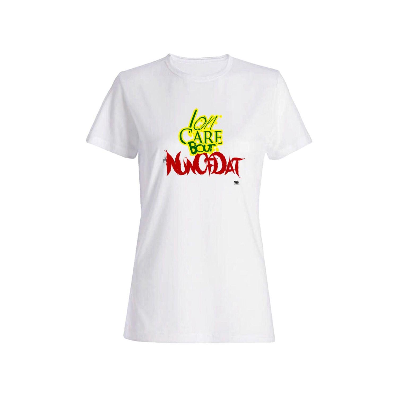 تی شرت نخی زنانه طرح نوشته انگلیسی کد 4455