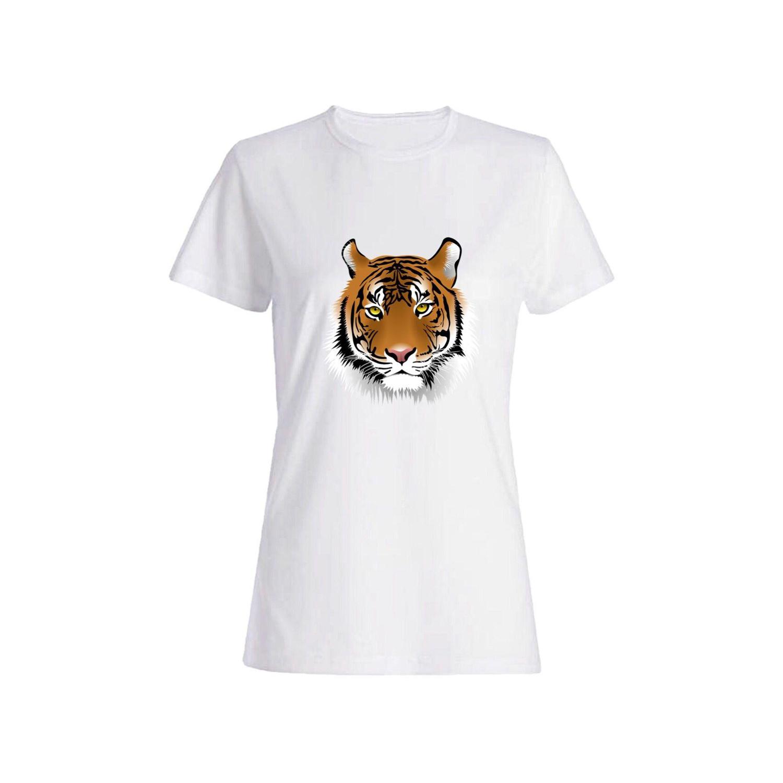 تی شرت نخی زنانه طرح ببر کد 4380