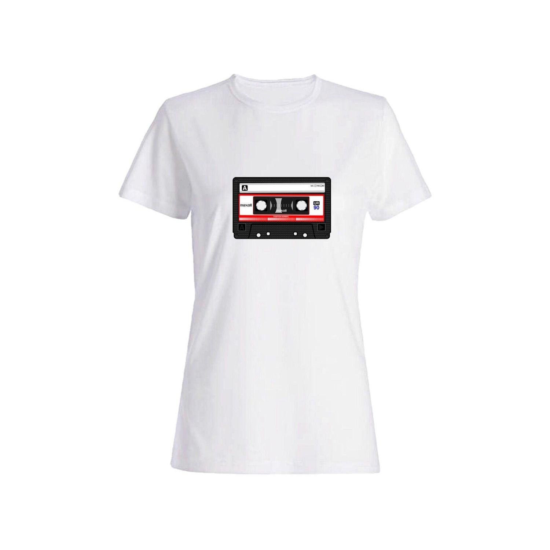 تی شرت نخی زنانه طرح کاست کد 2629
