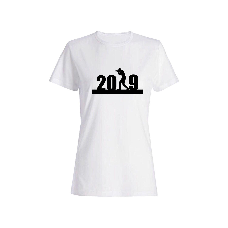 تی شرت نخی زنانه طرح 2019 کد 2730