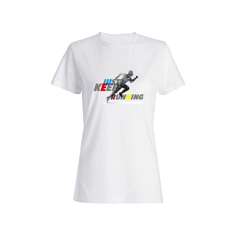 تی شرت نخی زنانه طرح ورزش کد 5921