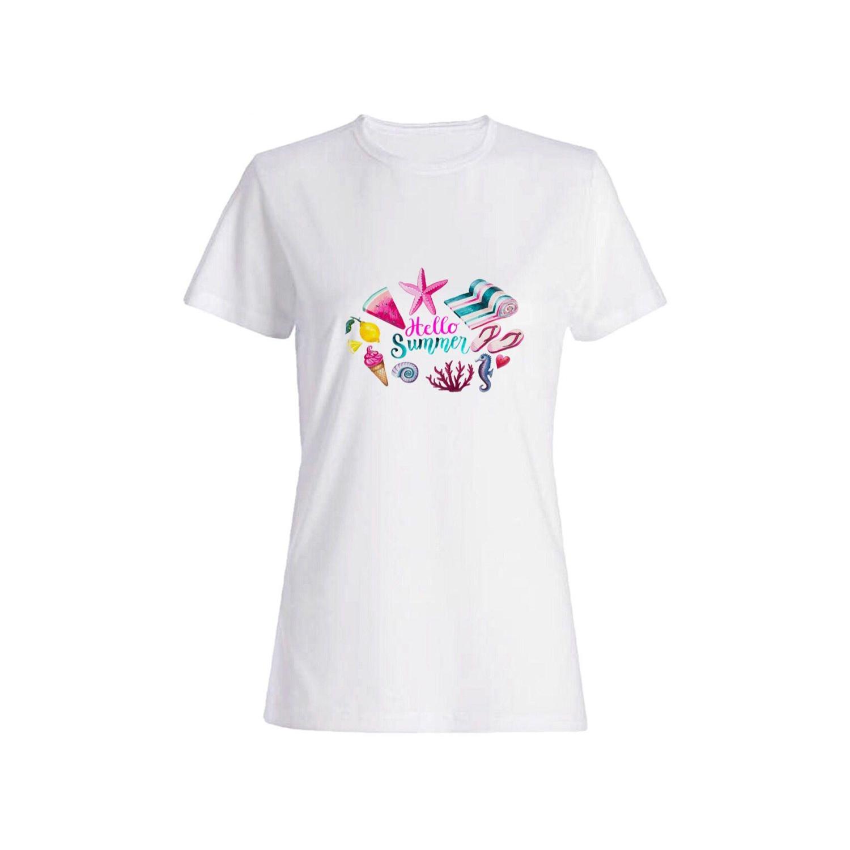 تی شرت نخی زنانه کد 0293