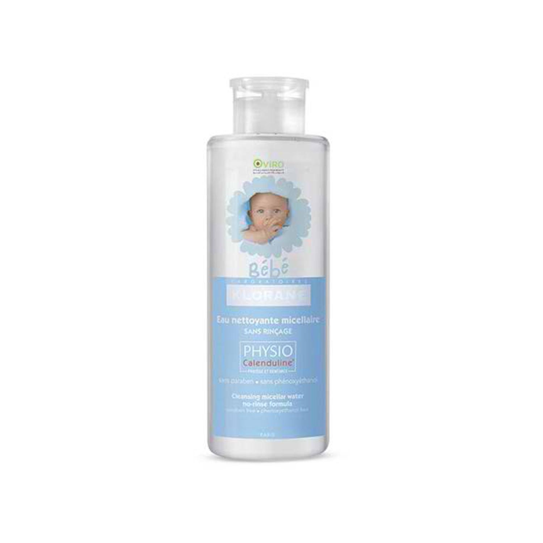 محلول پاک کننده ملایم صورت و بدن کودک کلوران مدل Micellaire حجم 500 میلی لیتر