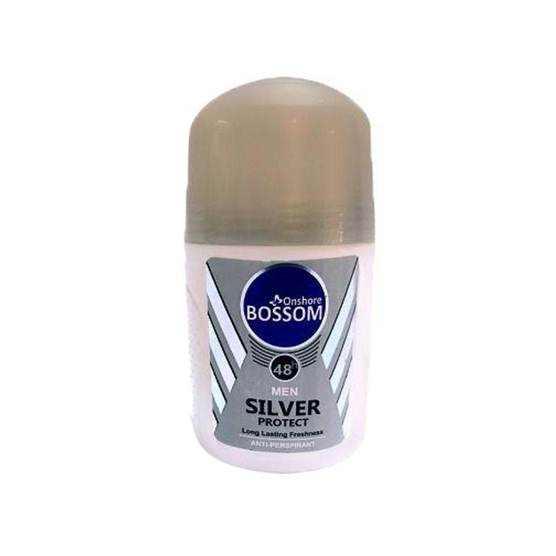 رول ضد تعریق مردانه انشور بوسوم مدل Silver حجم 75 میلی لیتر