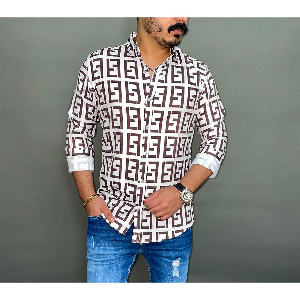 پیراهن مردانه طرح Fendi کد 147