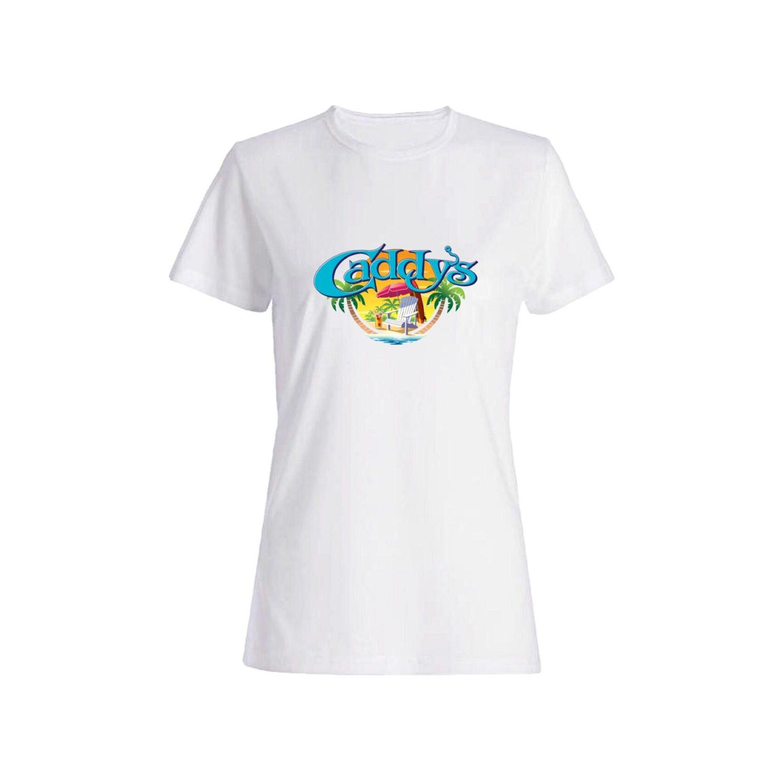 تی شرت نخی زنانه طرح جزیره کد 4233