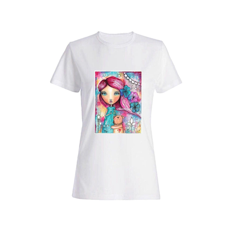 تی شرت دخترانه کد 109