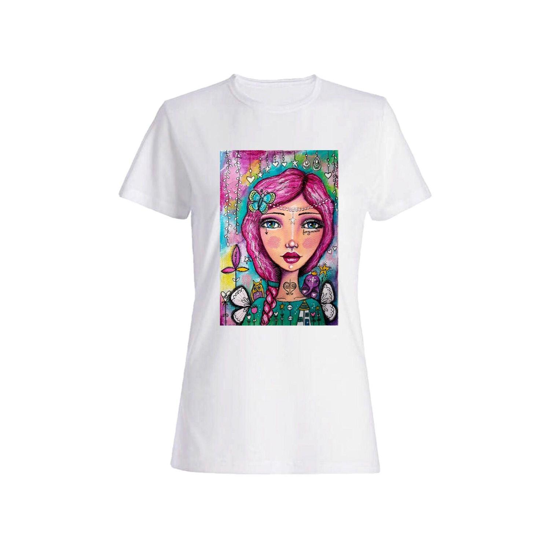 تی شرت دخترانه کد 103