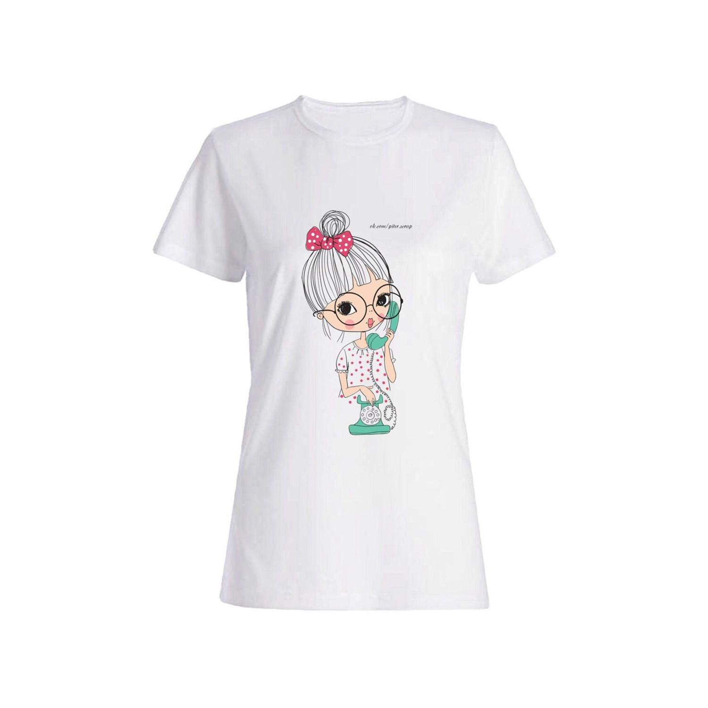 تی شرت دخترانه طرح دختر کد 44