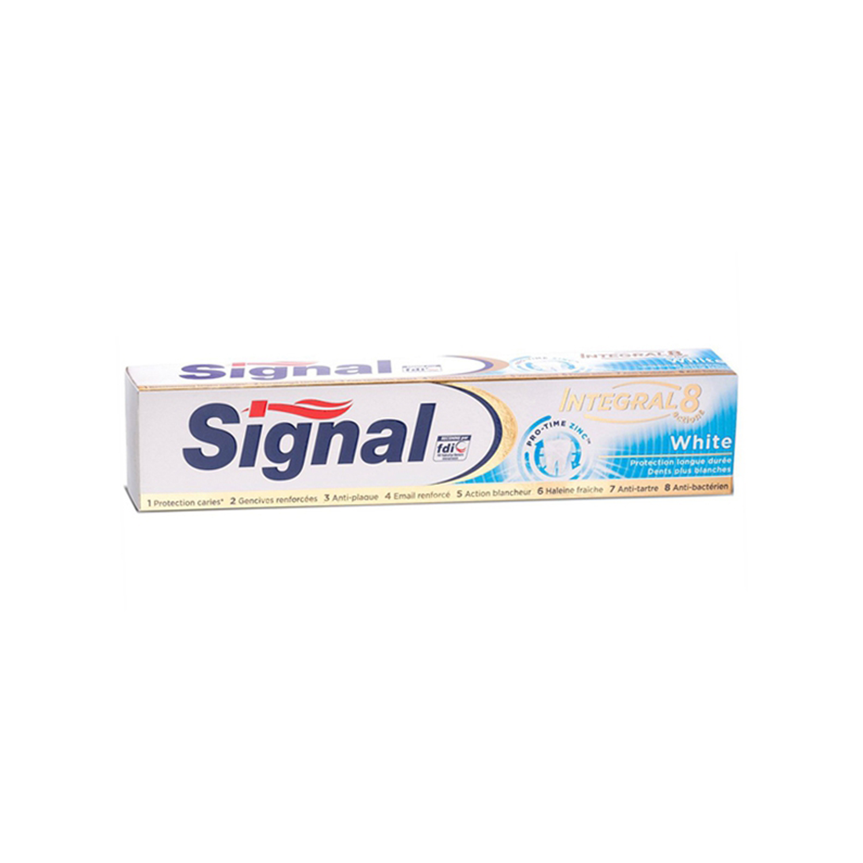 خمیر دندان سیگنال سری Integral 8 مدل White حجم 75 میلی لیتر