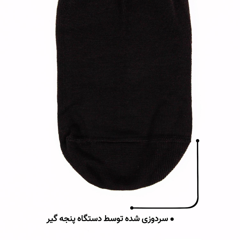 جوراب نخی مردانه ماییلدا مدل 3628-118-B بسته 4 عددی