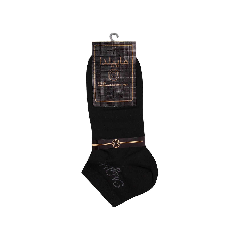 جوراب نخی مردانه ماییلدا مدل 3632-183 بسته 4 عددی