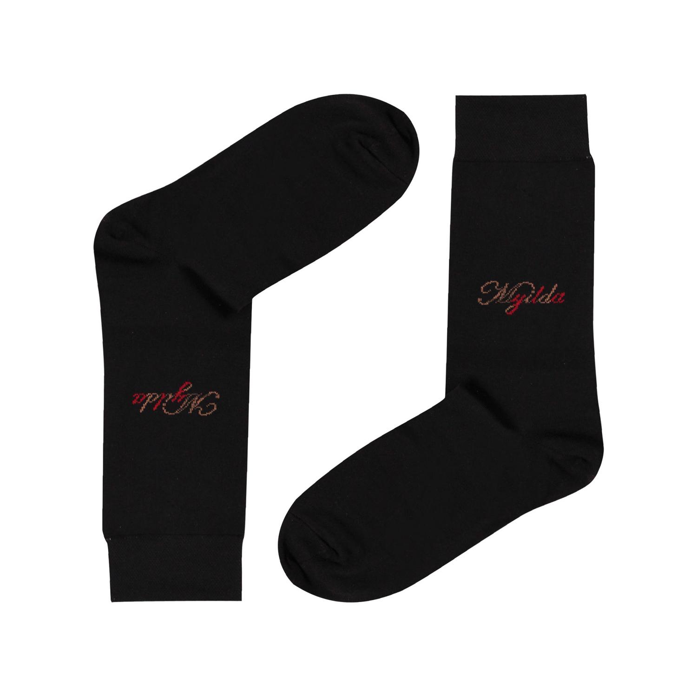 جوراب نخی مردانه ماییلدا مدل 3634-1001 بسته 12 عددی