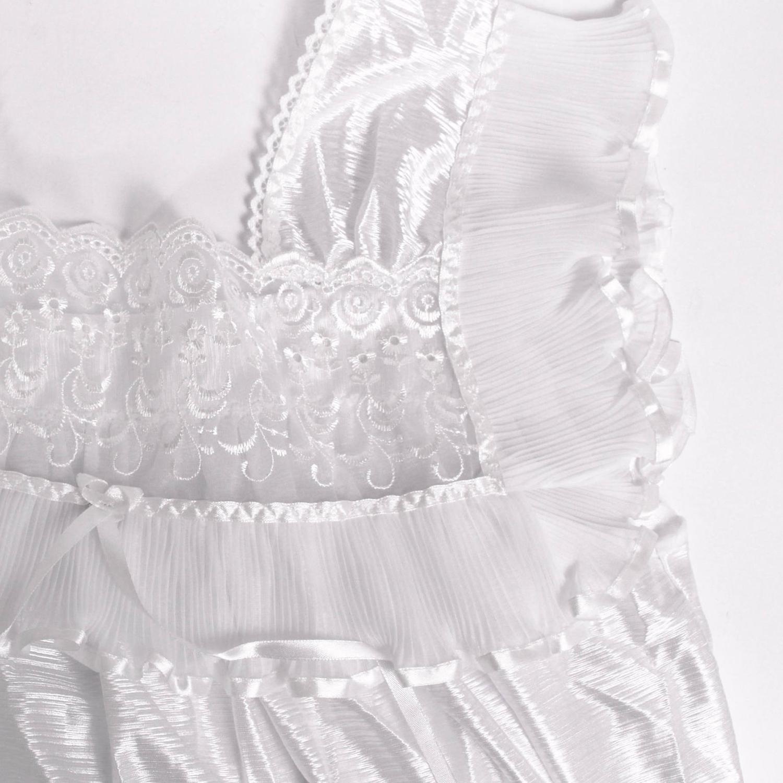 لباس خواب ساتن زنانه ماییلدا مدل 3615-W