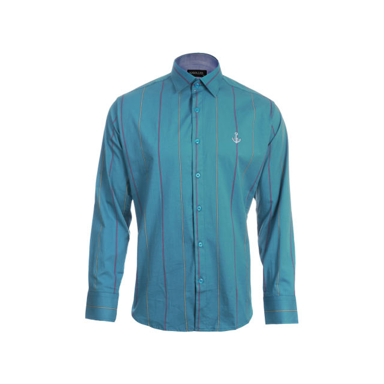 پیراهن پنبه ای مردانه ناوالس مدل Medad-Rangi-