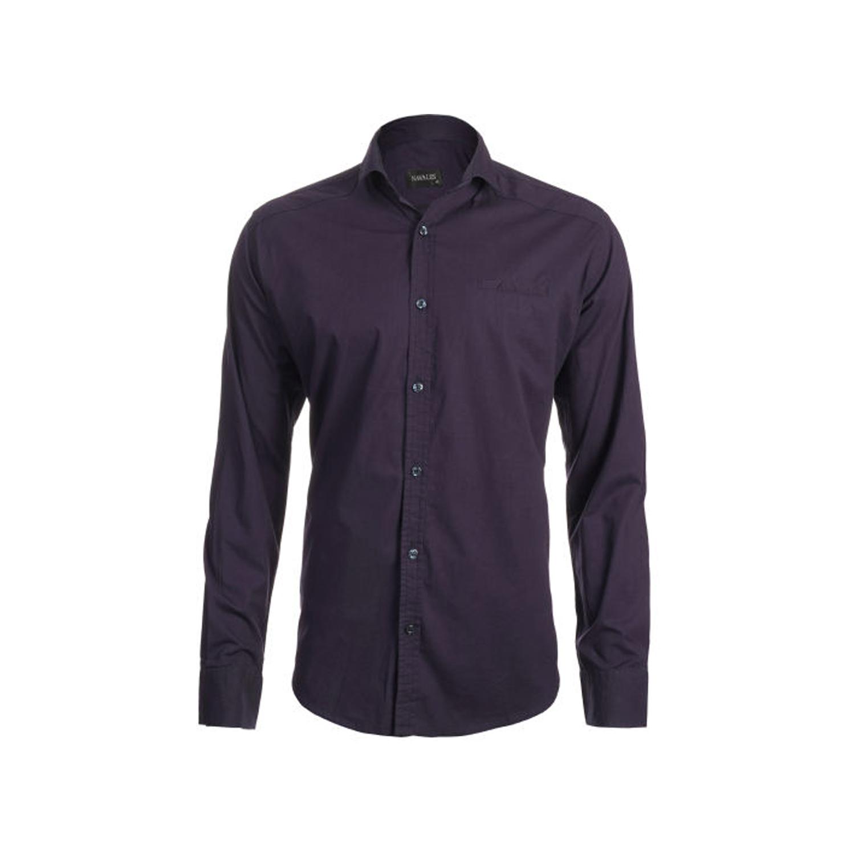 پیراهن پنبه ای مردانه ناوالس مدل POPLIN-NY