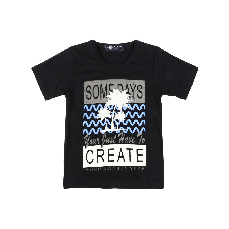 تی شرت نخی بچگانه ناوالس کد CREATE-02-BK