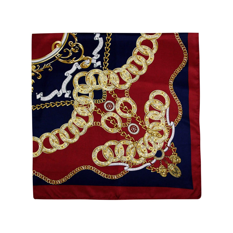 روسری ابریشم زنانه مدل 3613