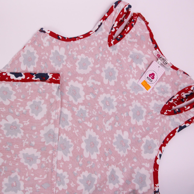 پیراهن نخی زنانه کوزا مدل 3618-2-R