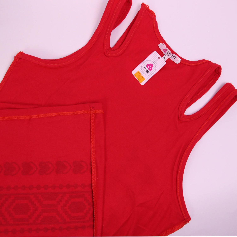 پیراهن نخی زنانه کوزا مدل 3618-1-R
