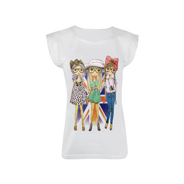 تی شرت نخی زنانه ماییلدا مدل 3522-20