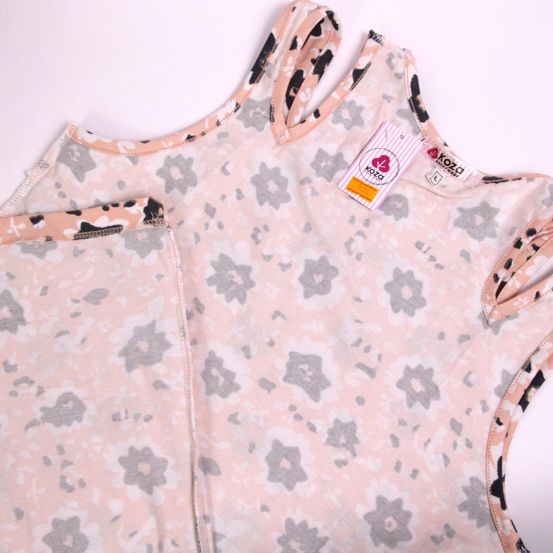 پیراهن نخی زنانه کوزا مدل 3618-2-GOL