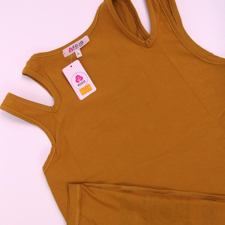 پیراهن نخی زنانه کوزا مدل 3618-1-KHR