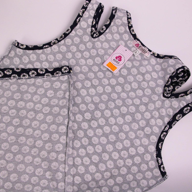 پیراهن نخی زنانه کوزا مدل 3618-3-N