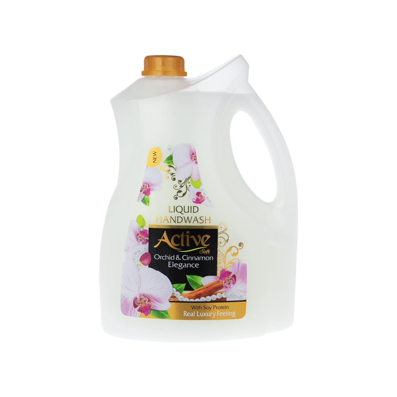 مایع دستشویی اکتیو مدل Orchid & Cinnamon وزن 3750 گرم