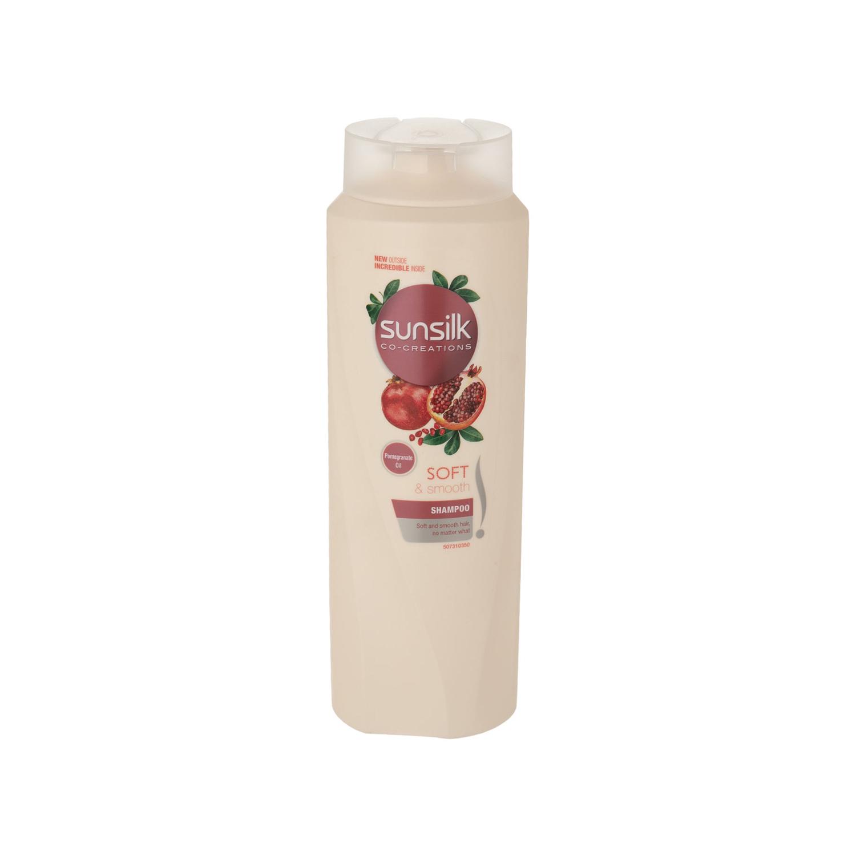 شامپو سان سیلک مدل Pomegranate مناسب موهای خشک حجم 600 میلی لیتر
