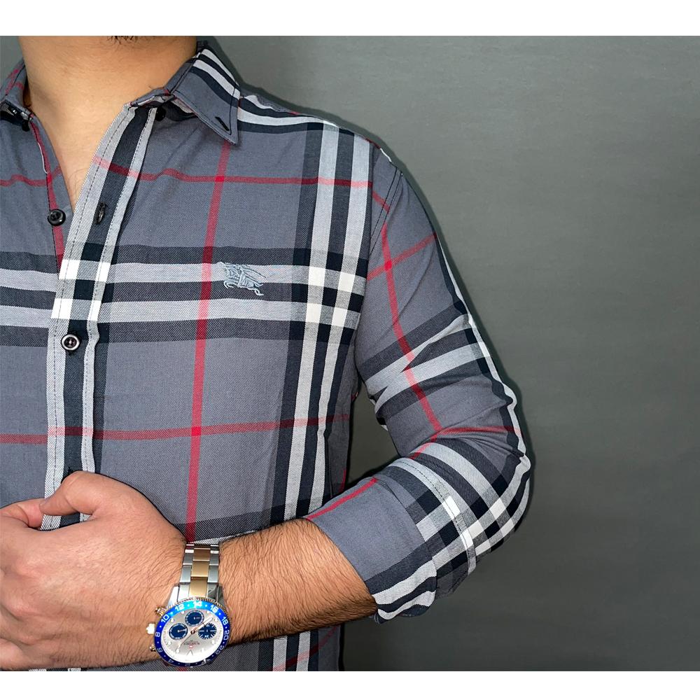 پیراهن مردانه طرح Burberry کد 154
