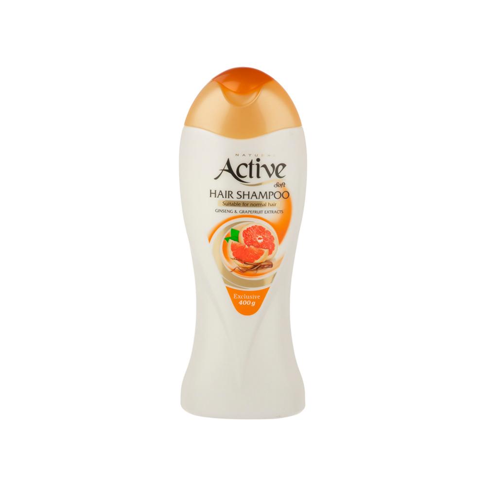 شامپو اکتیو مدل Orange Extract مناسب موهای معمولی وزن 400 گرم