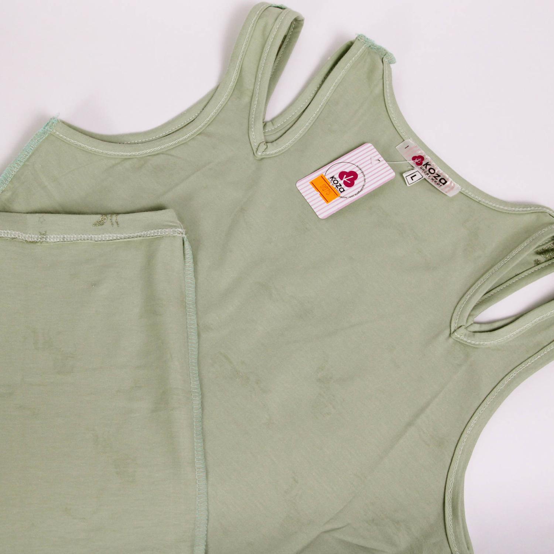 پیراهن نخی زنانه کوزا مدل 3618-5-G
