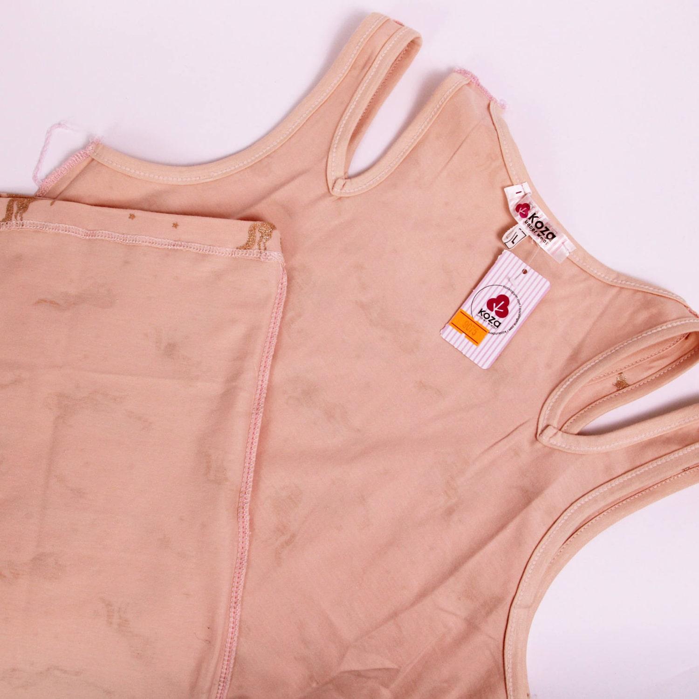 پیراهن نخی زنانه کوزا مدل 3618-5-GOL