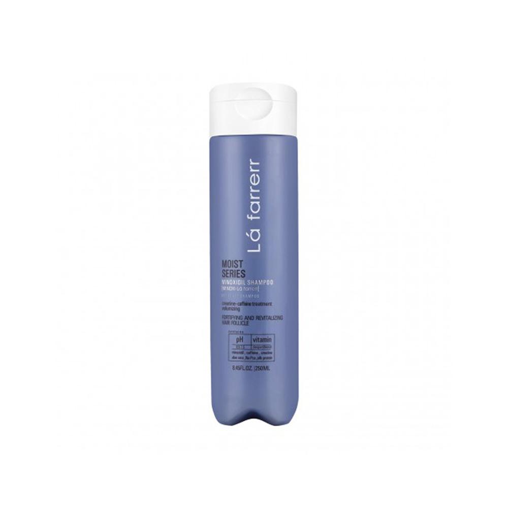 شامپو ماینوکسی لافارر مدل Moist therapy مخصوص موهای خشک و زبر حجم 250 میلی لیتر