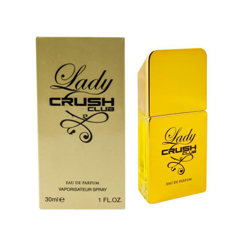 عطر جیبی زنانه کراش کلاب مدل Lady Million حجم 30 میلی لیتر