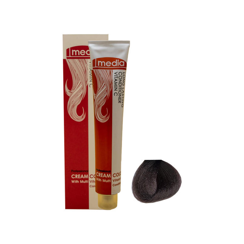 رنگ مو مدیا سری کاکائویی شماره 6.53 حجم 100 میلی لیتر