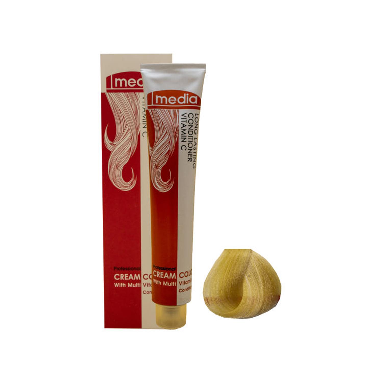 رنگ مو مدیا سری طلایی شماره 5.(1/2)9 حجم 100 میلی لیتر