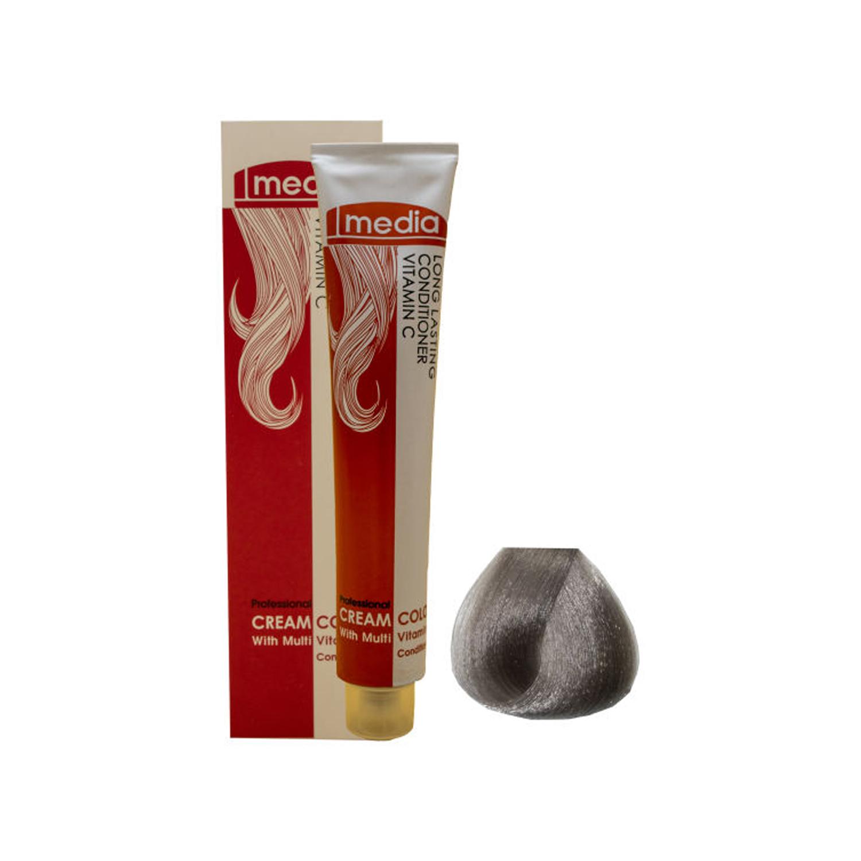 رنگ مو مدیا سری خاکستری شماره 9.1 حجم 100 میلی لیتر