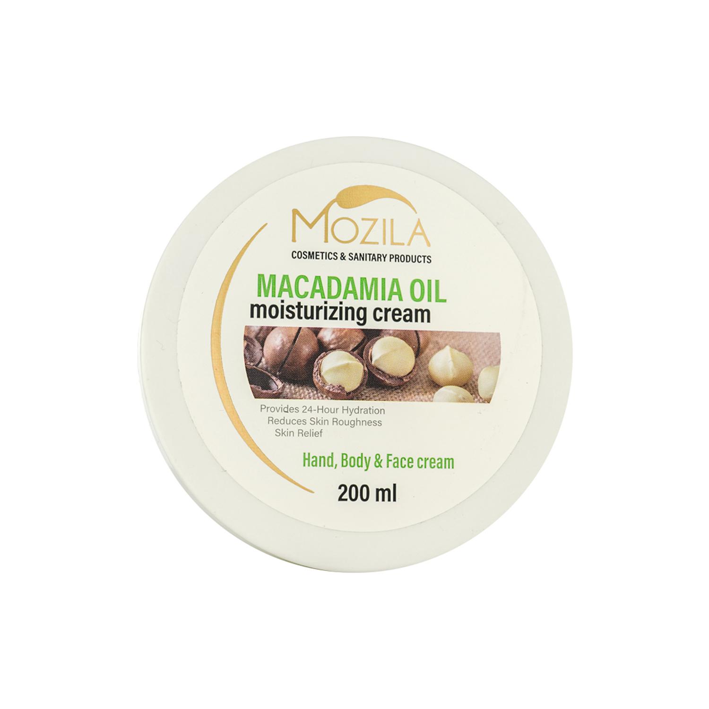 کرم مرطوب کننده موزیلا مدل Macdamia Oil حجم 200 میلی لیتر