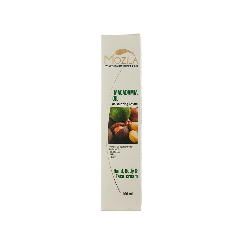 کرم مرطوب کننده موزیلا مدل Macadamia Oil حجم 100 میلی لیتر