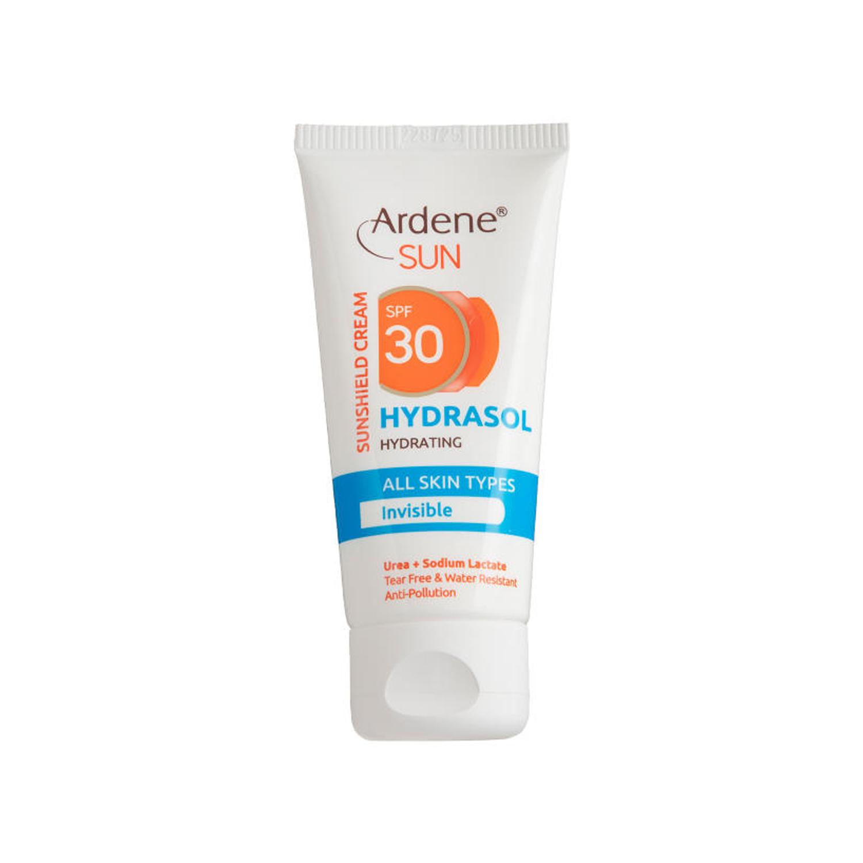 کرم ضد آفتاب آردن مدل Hydrasol Invisible SPF30 وزن 50 گرم - بی رنگ