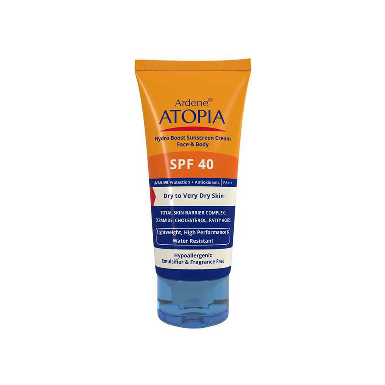 کرم ضد آفتاب آردن مدل Atopia SPF 40 مناسب پوست خشک حجم 50 میلی لیتر