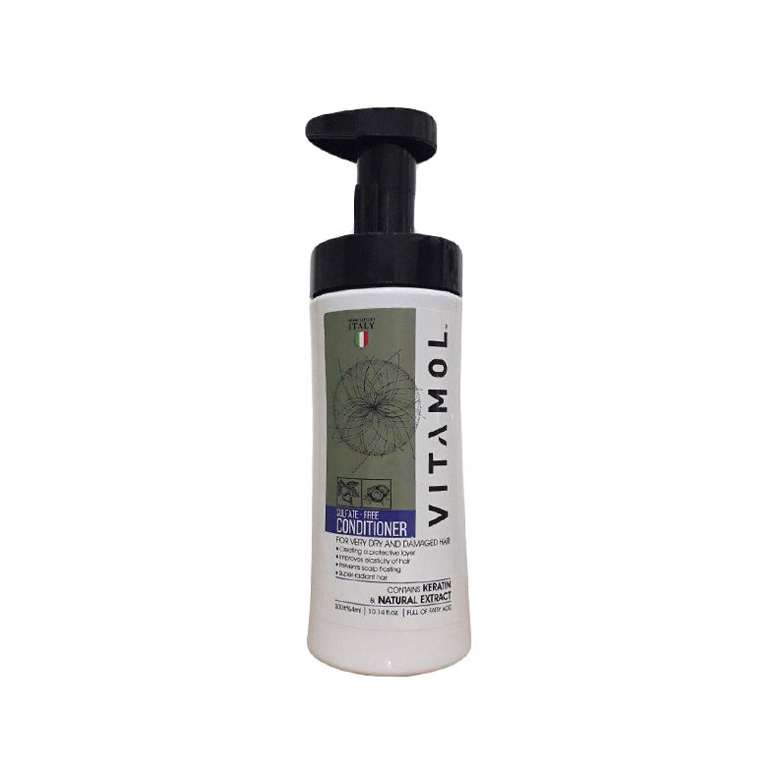 نرم کننده مو فاقد سولفات ویتامول مناسب موهای خشک و آسیب دیده حجم 300 میلی لیتر